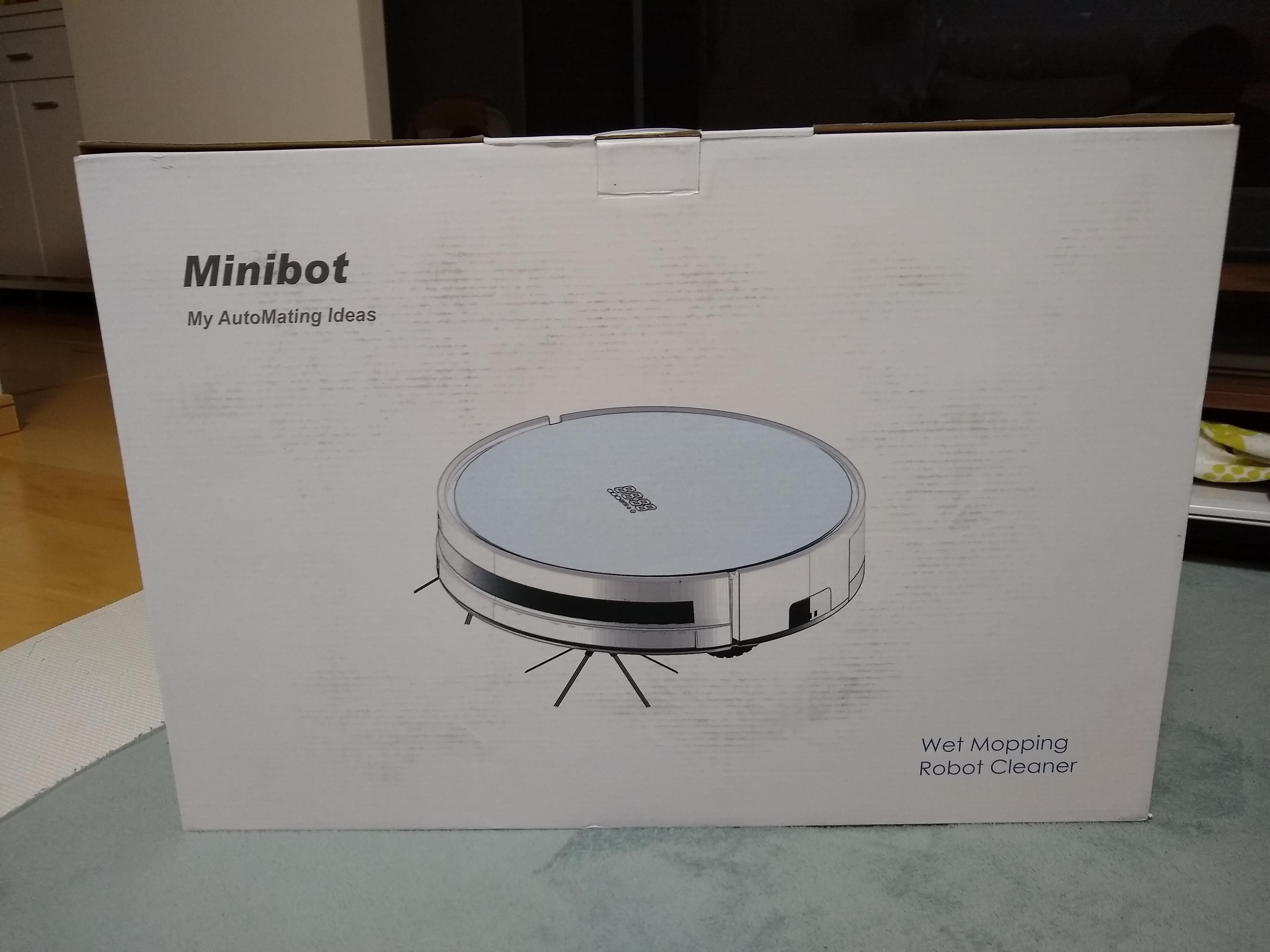 おすすめ掃除ロボット「Minibot」レビュー。コスパ最強かつgoogle homeと連携もできる!