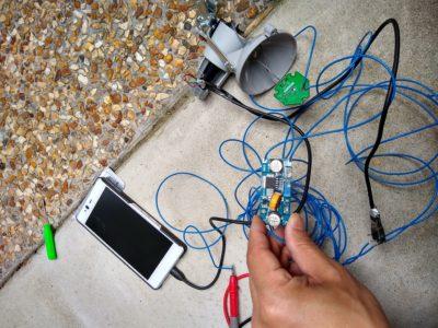 自家発電で携帯電話を充電してみよう「ダイナモ発電を降圧レギュレータで制御」