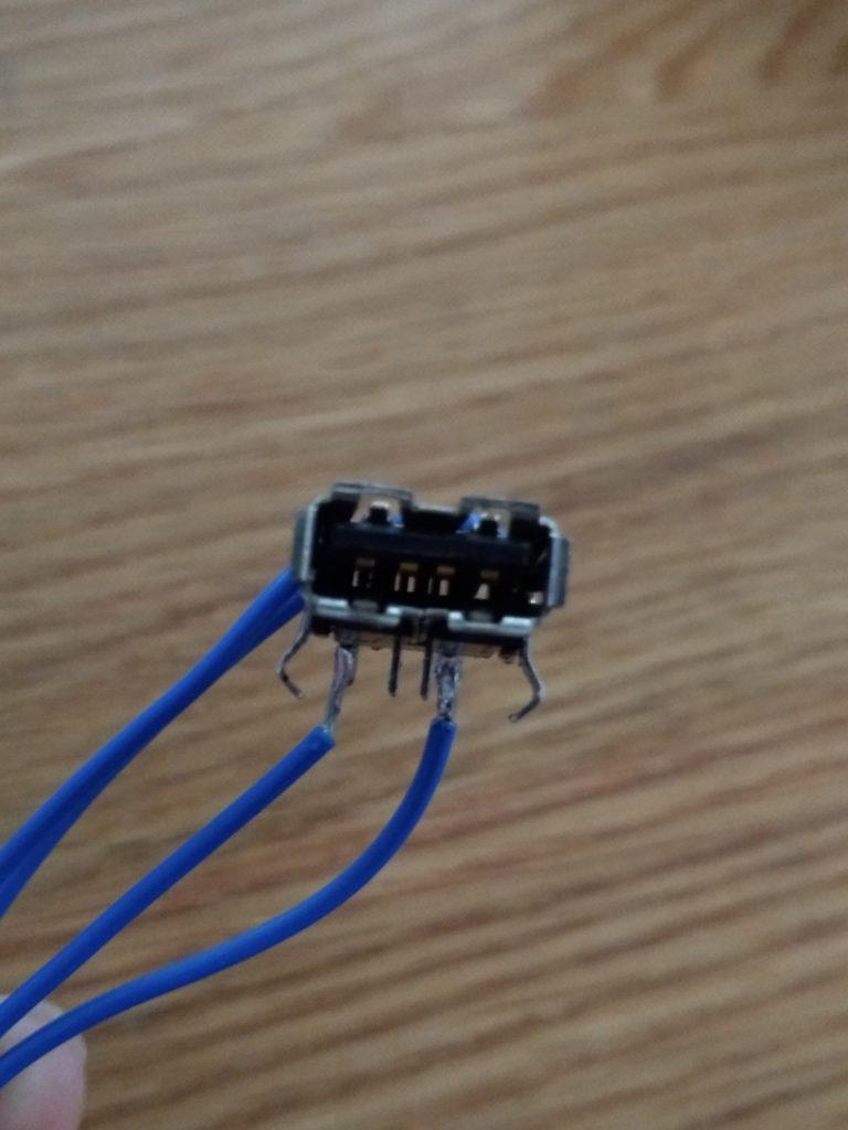 USBタイプAコネクタ
