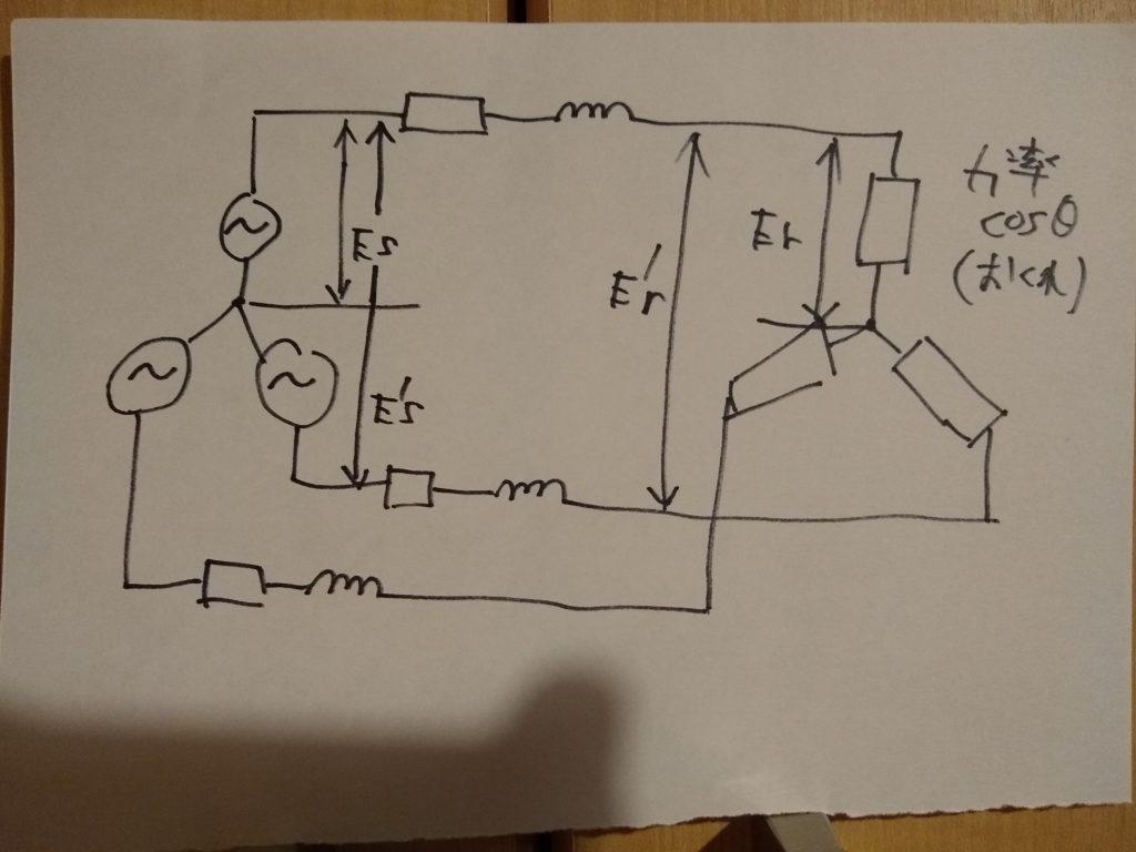 三相3線式送電