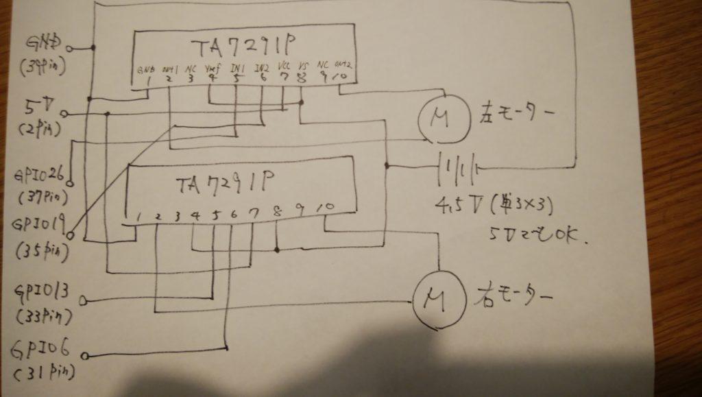 GPIO配線図