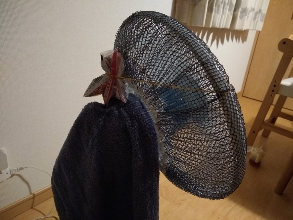 気化熱扇風機