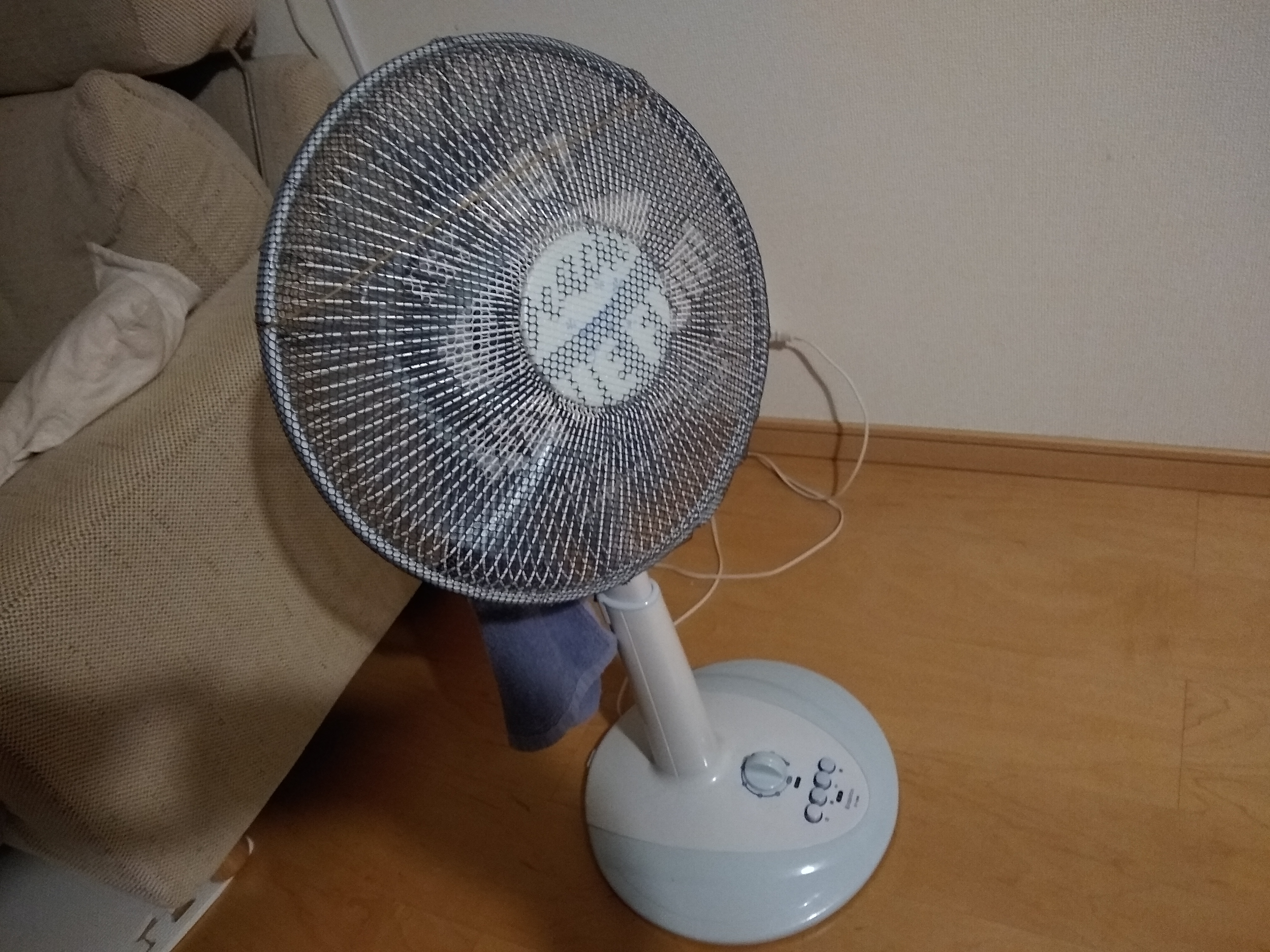 扇風機をより涼しく「一工夫で代替えエアコン化」