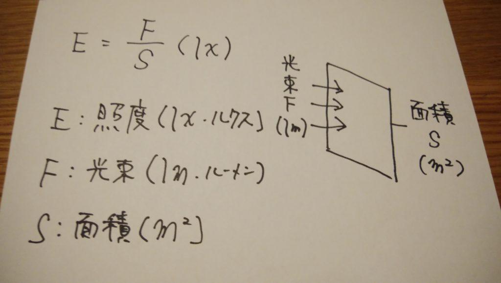 照度の公式