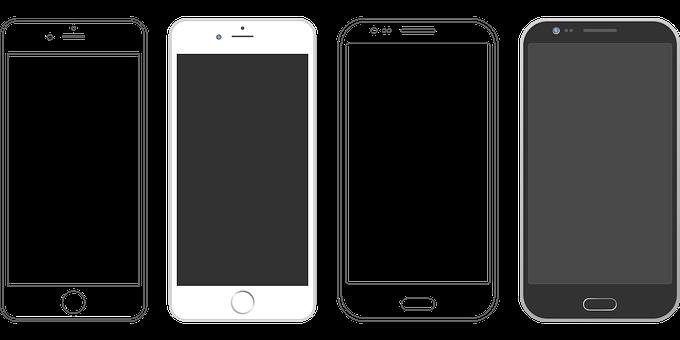 iPhonとアンドロイド