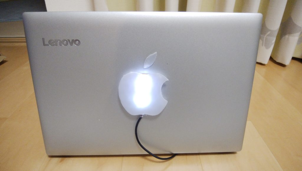 LenovoでMac