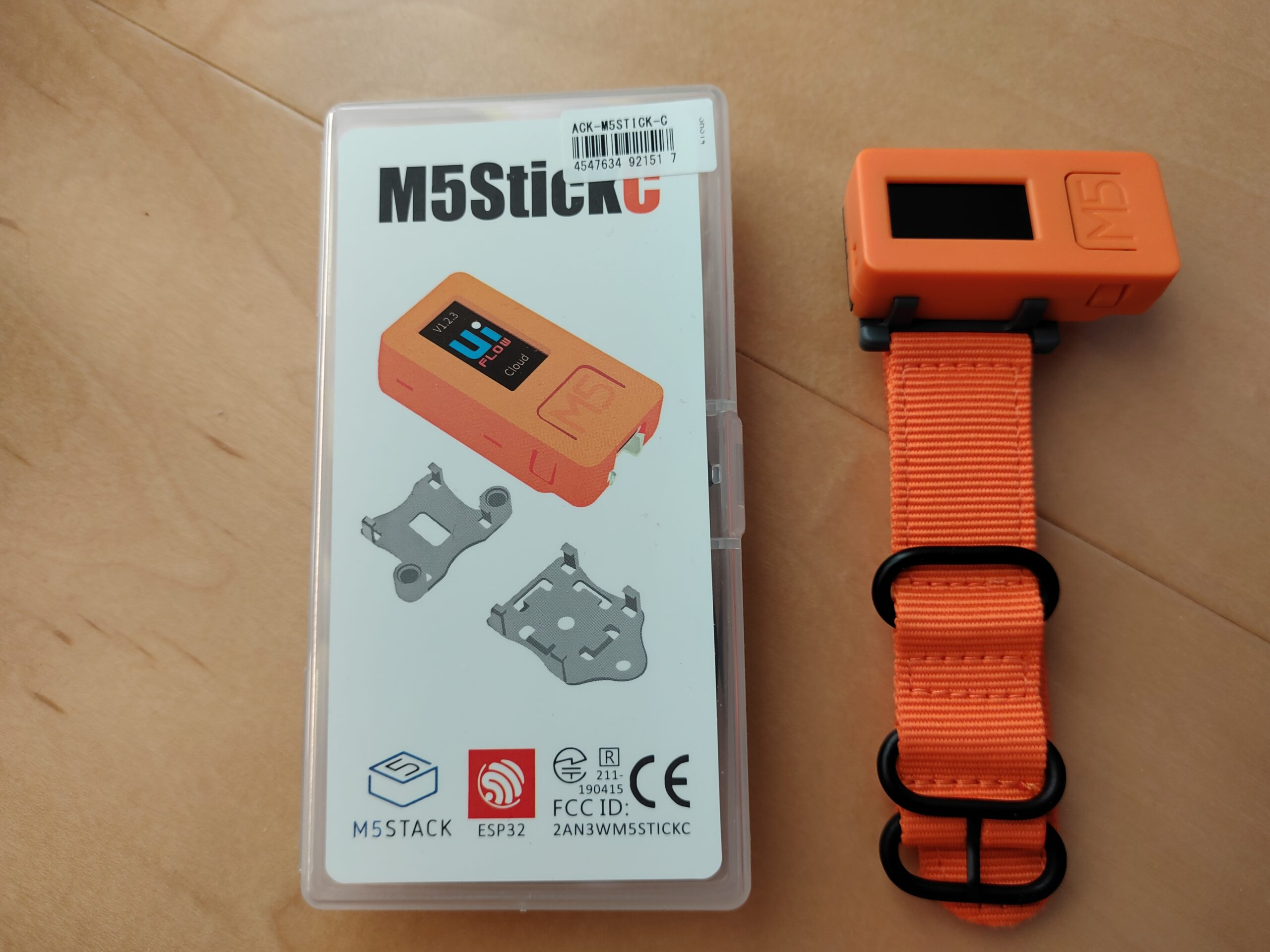 M5StickCで時計を作ってみる「構想編」