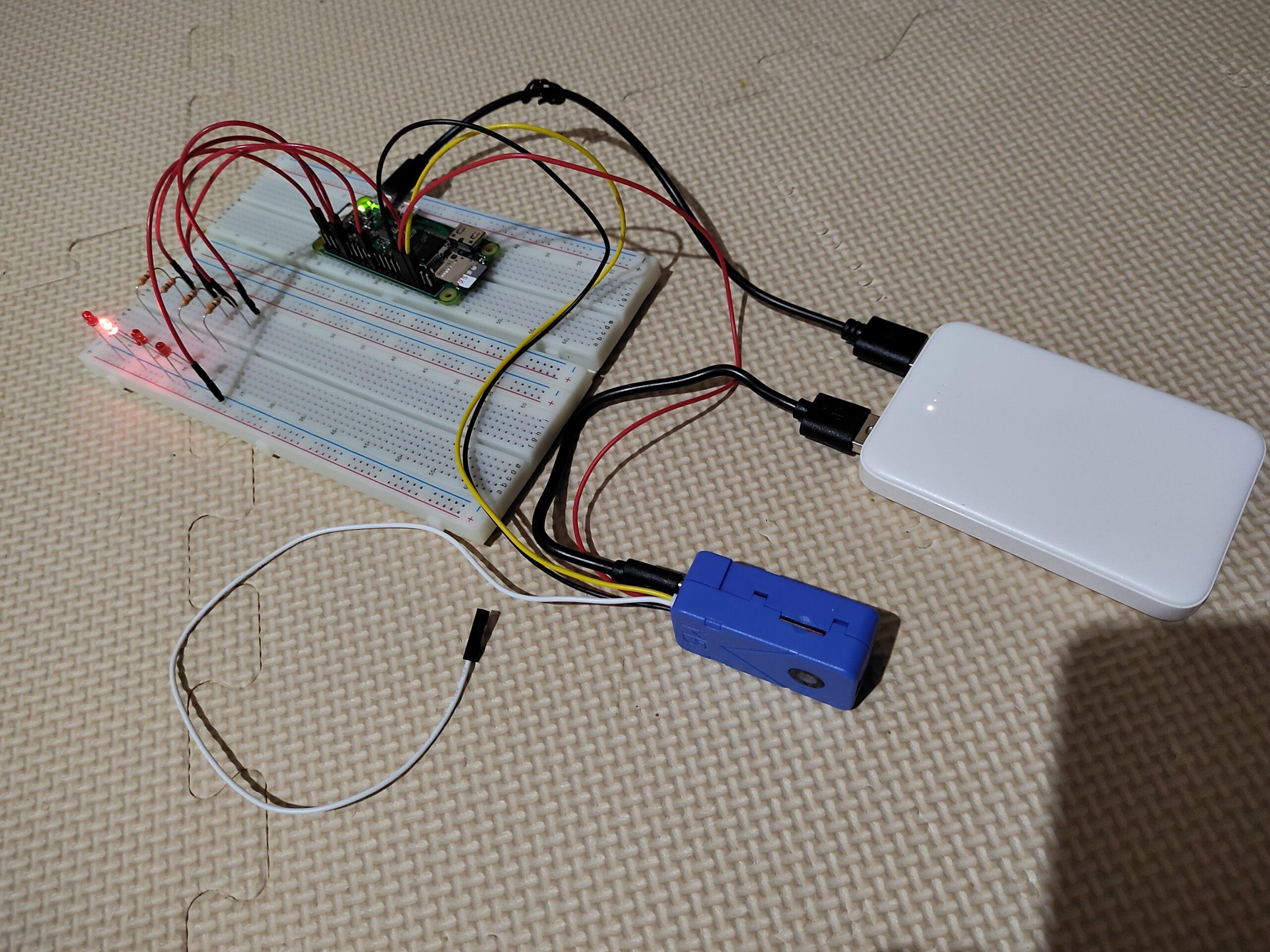 unitv2でサーボモーターを動かしてみる「unitv2のuart通信でラズパイのi2cを制御」